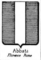 Abbati Coat of Arms / Family Crest 1