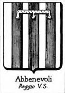 Abbenevoli Coat of Arms / Family Crest 1