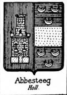 Abbesteeg Coat of Arms / Family Crest 0