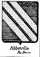 Abbeville Coat of Arms / Family Crest 0
