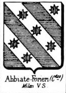 Abbiati Coat of Arms / Family Crest 0