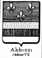 Abbiosi Coat of Arms / Family Crest 1