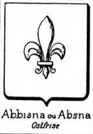 Abbisna Coat of Arms / Family Crest 0
