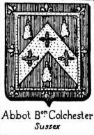 Abbot Coat of Arms / Family Crest 0