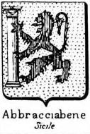 Abbracciabene Coat of Arms / Family Crest 1
