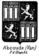 Abcoude Coat of Arms / Family Crest 1