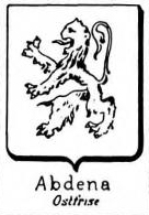 Abdena Coat of Arms / Family Crest 0