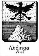 Abdinga Coat of Arms / Family Crest 0