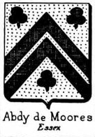 Abdy Coat of Arms / Family Crest 2