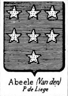 Abeele Coat of Arms / Family Crest 2