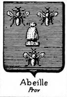 Abeille Coat of Arms / Family Crest 0