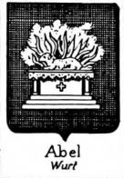 Abel Coat of Arms / Family Crest 1