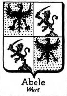 abele Coat of Arms / Family Crest 2