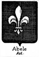 abele Coat of Arms / Family Crest 3