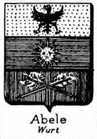 abele Coat of Arms / Family Crest 1