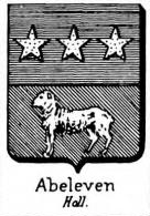 Abeleven Coat of Arms / Family Crest 0
