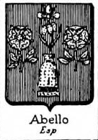 Abello Coat of Arms / Family Crest 1