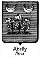 Abelly Coat of Arms / Family Crest 1