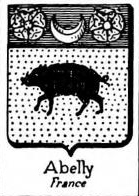 Abelly Coat of Arms / Family Crest 0
