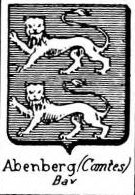 Abenberg Coat of Arms / Family Crest 3
