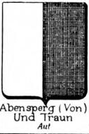 Abensperg Coat of Arms / Family Crest 2