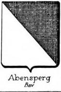 Abensperg Coat of Arms / Family Crest 1