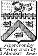 Abercromby Coat of Arms / Family Crest 1