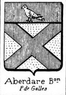 Aberdare Coat of Arms / Family Crest 0