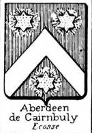 Aberdeen Coat of Arms / Family Crest 0