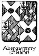 Abergavenny Coat of Arms / Family Crest 0