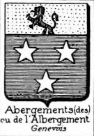 Abergements Coat of Arms / Family Crest 0