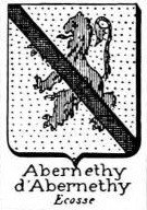 Abernethy Coat of Arms / Family Crest 1