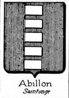 Abillon Coat of Arms / Family Crest 1