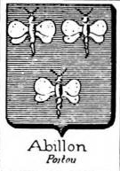 Abillon Coat of Arms / Family Crest 0