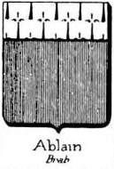 Ablain Coat of Arms / Family Crest 0