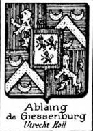 Ablaing Coat of Arms / Family Crest 1