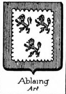Ablaing Coat of Arms / Family Crest 0