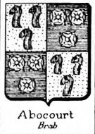Abocourt Coat of Arms / Family Crest 0