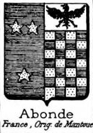 Abonde Coat of Arms / Family Crest 0