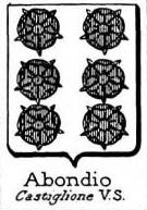 Abondio Coat of Arms / Family Crest 0