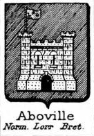 Aboville Coat of Arms / Family Crest 1