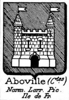 Aboville Coat of Arms / Family Crest 0
