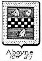 Aboyne Coat of Arms / Family Crest 0