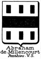 Abraham Coat of Arms / Family Crest 5