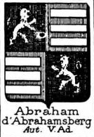Abraham Coat of Arms / Family Crest 3