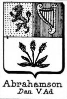 Abrahamson Coat of Arms / Family Crest 0