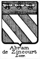 Abram Coat of Arms / Family Crest 1