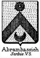 Abrambassich Coat of Arms / Family Crest 0