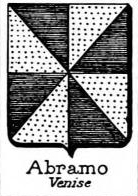 Abramo Coat of Arms / Family Crest 1
