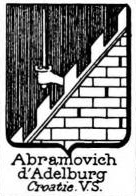 Abramovich Coat of Arms / Family Crest 0